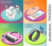 portable electronics isometric...   Shutterstock .eps vector #796322014