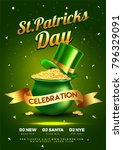 st. patrick's day celebration... | Shutterstock .eps vector #796329091