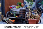 old typical objects | Shutterstock . vector #796344949