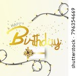 happy birthday background... | Shutterstock .eps vector #796354669