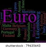word cloud based around the... | Shutterstock . vector #79635643