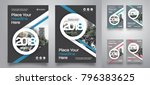 city background business book... | Shutterstock .eps vector #796383625