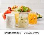 Set Of Classic Salad Dressings  ...