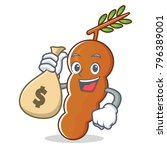 with money bag tamarind...   Shutterstock .eps vector #796389001