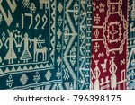 patterns of small traditional... | Shutterstock . vector #796398175