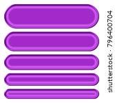 shiny silky purple set of...   Shutterstock . vector #796400704