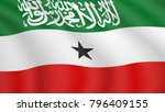 realistic waving flag of... | Shutterstock .eps vector #796409155