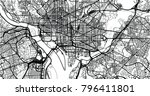 urban vector city map of...   Shutterstock .eps vector #796411801