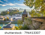aerial panoramic view of the... | Shutterstock . vector #796413307