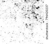 abstract grunge grey dark... | Shutterstock . vector #796420237