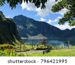 Small photo of Volcanic crater lake of Pinatubo, Philippines