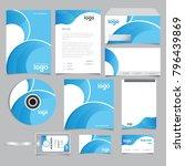 corporate identity branding... | Shutterstock .eps vector #796439869