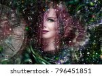 mysticism  zodiac signs  and... | Shutterstock . vector #796451851