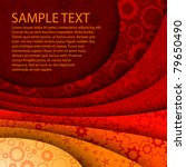 abstract red background with... | Shutterstock .eps vector #79650490