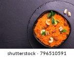 traditional indian cuisine....   Shutterstock . vector #796510591