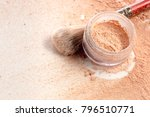 close up of crushed mineral... | Shutterstock . vector #796510771