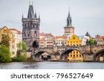 prague   czech... | Shutterstock . vector #796527649
