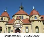 bath architecture in sopot | Shutterstock . vector #796529029