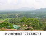 hilly landscape view from the... | Shutterstock . vector #796536745