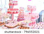 Candy Bar And Wedding Cake....