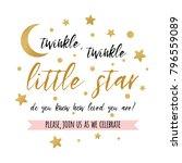 twinkle twinkle little star... | Shutterstock .eps vector #796559089