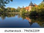 water castle proebsting  germany | Shutterstock . vector #796562209