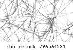 abstract digital fractal... | Shutterstock . vector #796564531