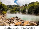 the hot spring at beitou... | Shutterstock . vector #796565875