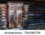 An Old Wooden House Standing At ...