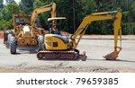 Heavy  Equipment At Road...