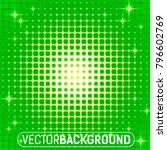 abstract glowing background... | Shutterstock .eps vector #796602769