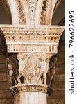 close up of a column capital | Shutterstock . vector #796622695