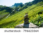 the mountains. the stone...   Shutterstock . vector #796623364