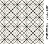 fabric print. geometric pattern ... | Shutterstock . vector #796631884