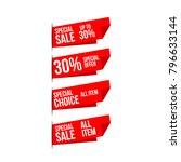 discount label vector template...   Shutterstock .eps vector #796633144