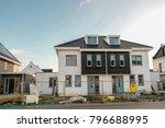 construction site of new dutch... | Shutterstock . vector #796688995