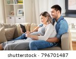 pregnancy  technology and... | Shutterstock . vector #796701487