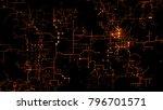 3d background. technology... | Shutterstock . vector #796701571
