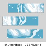 abstract banner template with... | Shutterstock .eps vector #796703845