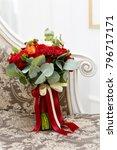 beautiful wedding bouquet of...   Shutterstock . vector #796717171