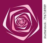 rose. vector flower. beautiful...   Shutterstock .eps vector #796718989