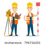 flat style professional people... | Shutterstock .eps vector #796726201