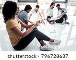 innovative technologies. side... | Shutterstock . vector #796728637