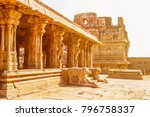 sri krishna temple in hampi ... | Shutterstock . vector #796758337
