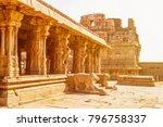 sri krishna temple in hampi ... | Shutterstock . vector #796758337