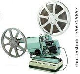 a movie projector is an opto... | Shutterstock . vector #796759897