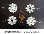 christmas holiday ornaments | Shutterstock . vector #796778311