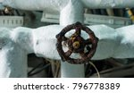 an old manual valve in a high...   Shutterstock . vector #796778389