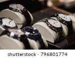 luxury watches in detail   Shutterstock . vector #796801774