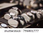 luxury watches in detail | Shutterstock . vector #796801777